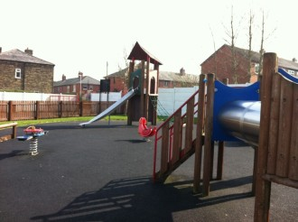 crompton cricket club children's playground