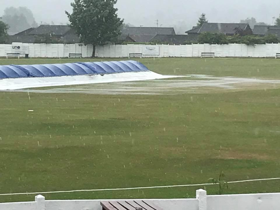 raining at crompton cricket club