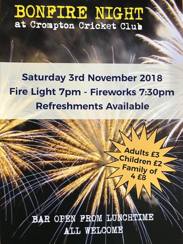 crompton cricket bonfire flyer