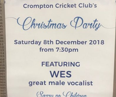 Crompton Cricket Club Christmas Party