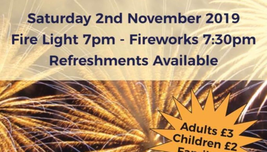 Crompton Cricket Club Bonfire Night